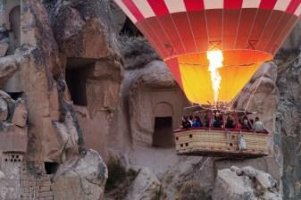 Ballooning over Cappadocia's fairy chimneys