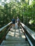 1/2 mile swamp boardwalk recently refurbished