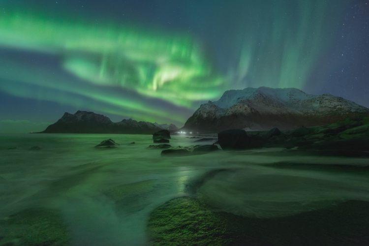 Resultado de imagen de aurora boreal noruega