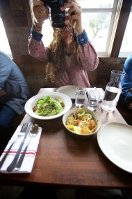 One of our favorite travel pastimes, photographing our meals. Outerlands