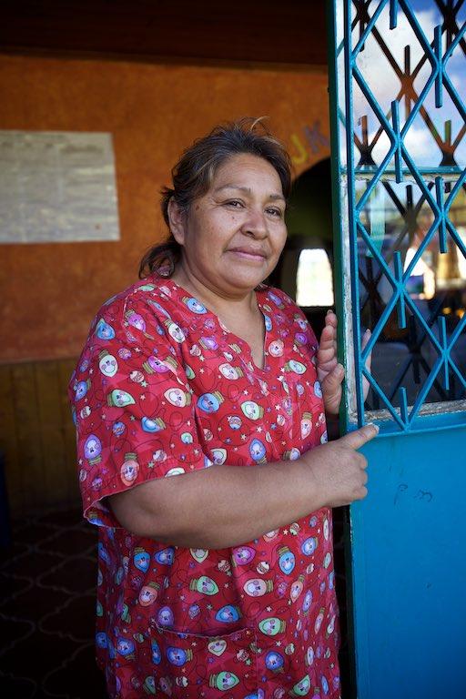 Rosie, director of Rosa DeAmor (Rose of Love) Orphanage