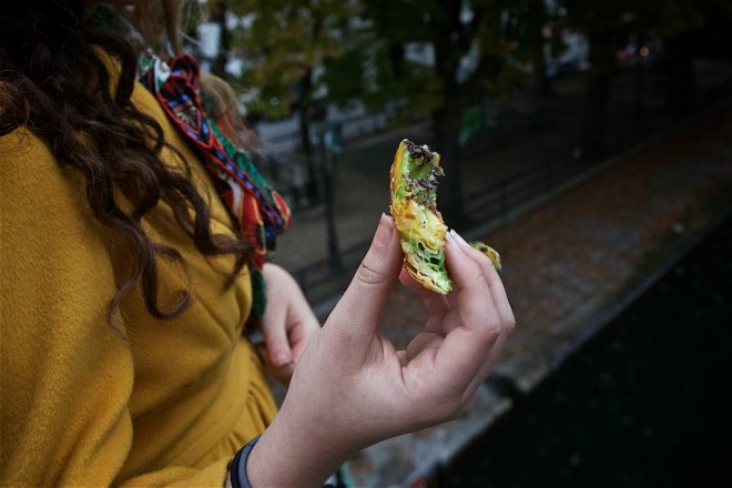 L'escargot chocolat pistache from Du Pain et des Idees