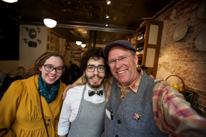 Our new friend and waiter at Buvette