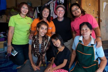 Working in the impoverished Klong Toey area of of Bangkok, photographing and ministering alongside the Step Ahead Foundation.