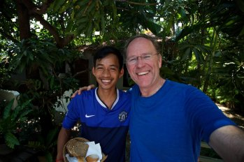 My new friend Borin in Siem Reap Cambodia