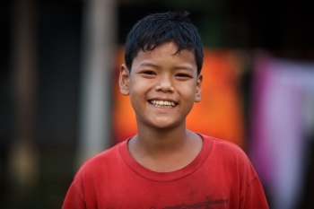 Nan Chung found on streets begging at the age of five, one ear bleeding from abuse. This happy and heathy young man has experienced healing through the body of Christ. Cambodia