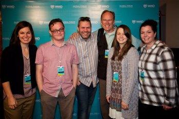 WWO Global Forum social media team