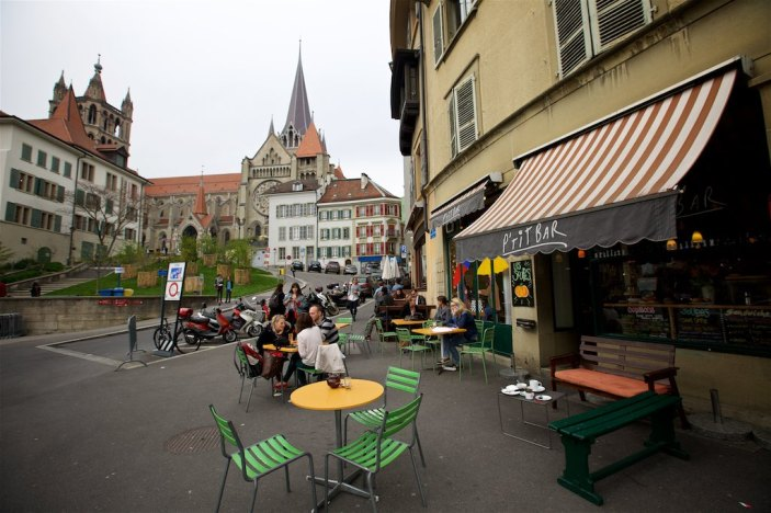 Time in Lausanne 1