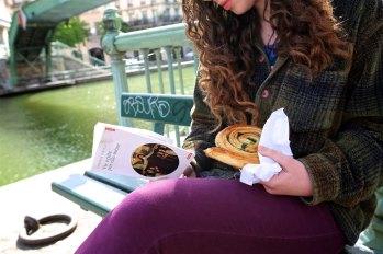 L'escargot chocolate pistachio from Du Pain et des Idees