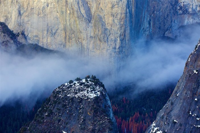 So much beauty.... Yosemite in the winter