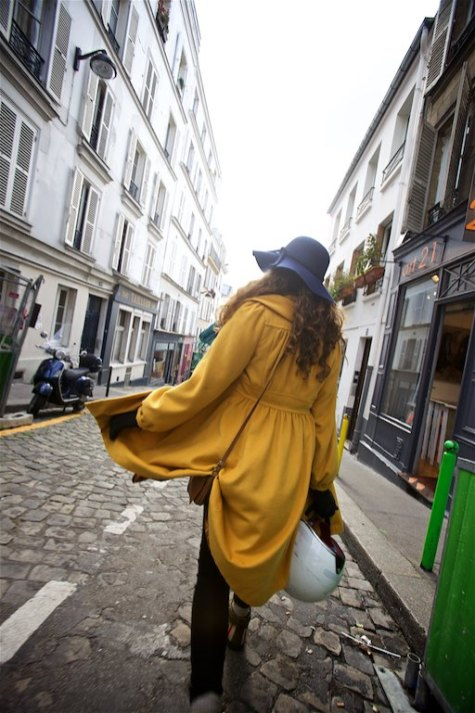 Exploring the streets of Paris France