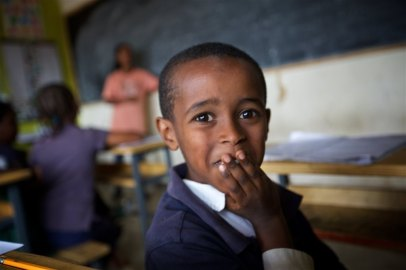 A school that is changing the lives of Ethiopian children in Addis Ababa