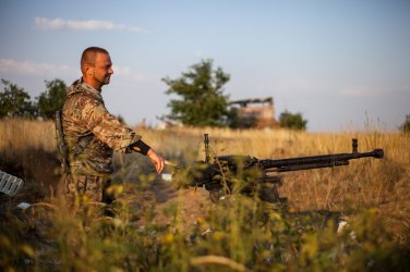 Learning the stories from the war zone in the Donetsk region of Ukraine near the Russian border