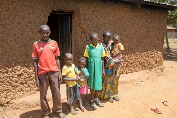 This is Madeline School student Linda and her family.