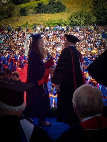 Carissa's graduation -26