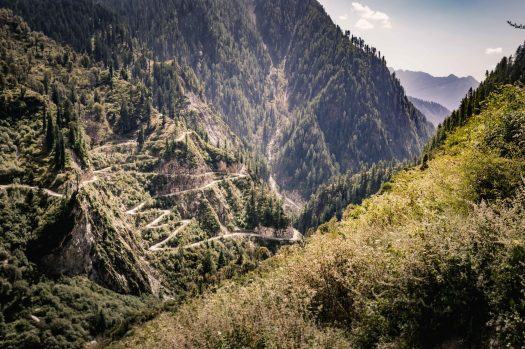 Our return home to Manali through the mountains