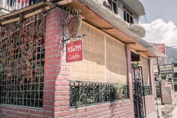 Kilta Cafe in Manali where Mingmar is the manager.