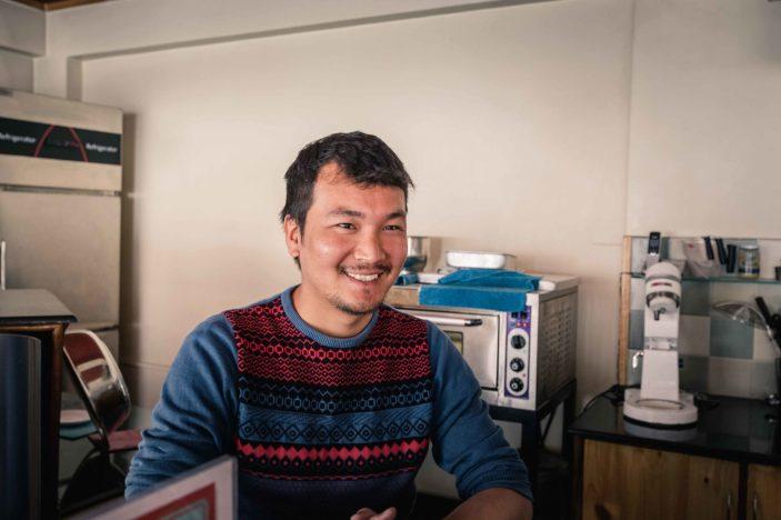 Barista and Kilta Cafe manager, Mingmar Sherpa
