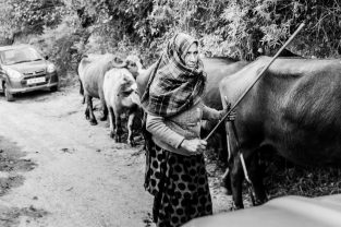 Life in the mountain regions of Manali where many of the House of Grace children come from.