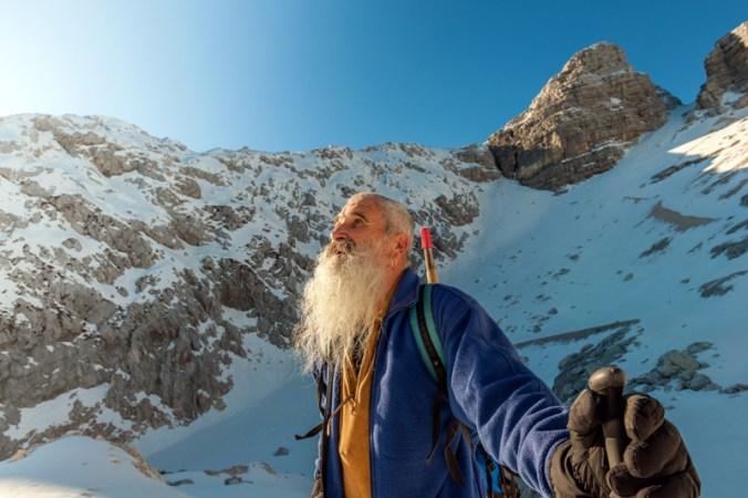 Happy-Senior-Climber-with-Long-Beard,-Kanin,-Julian-Alps,-Europe.-636900410_Copyright iStock