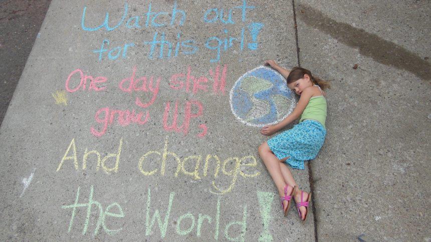 Rachel grow up and change the world
