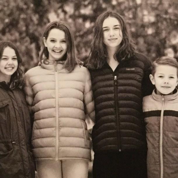 Wiedrick kids. Capturing the Charmed life.
