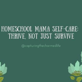 homeschool mama daily affirmations