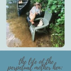 the life of the perpetual mother hen: finding quiet