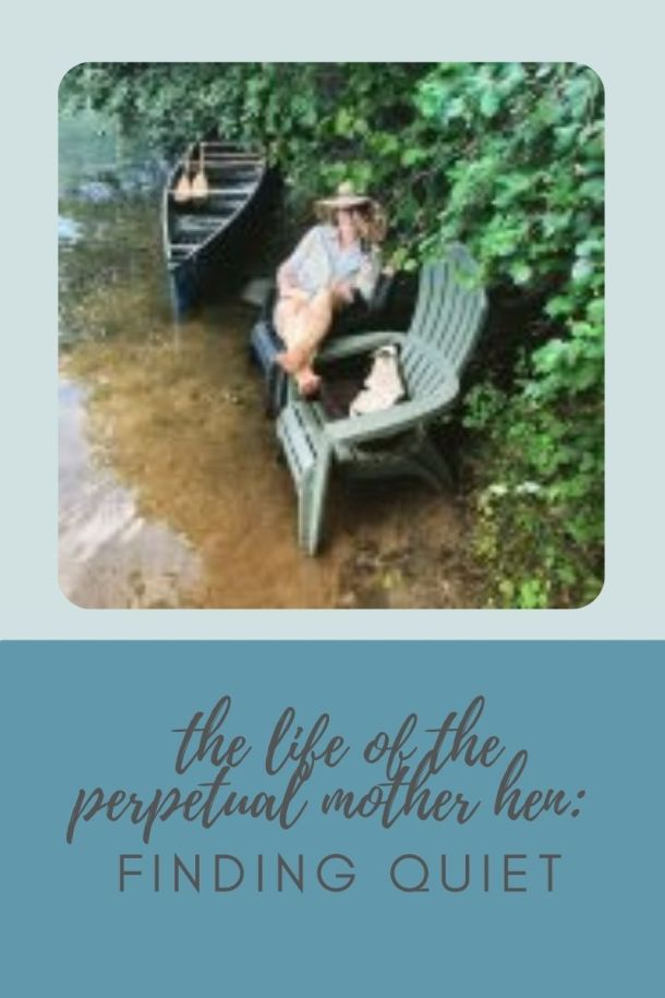 finding quiet for the homeschool mama