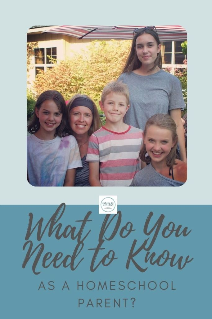 What you need to know as a homeschool parent