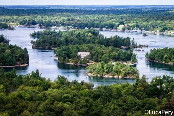 Visitare il parco Thousand Islands