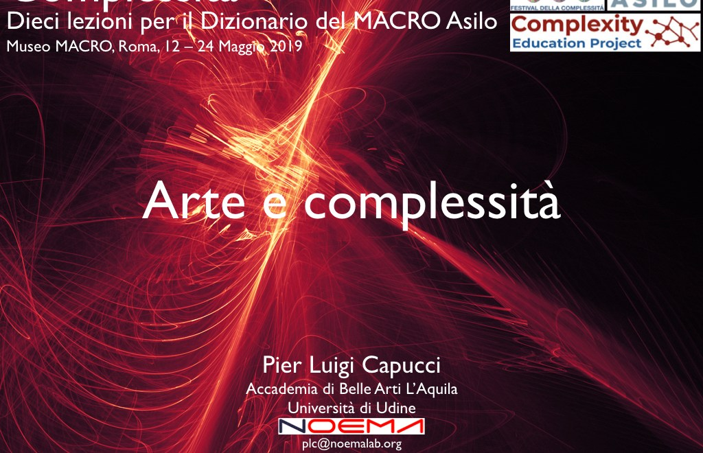 Arte e complessità / Art and Complexity