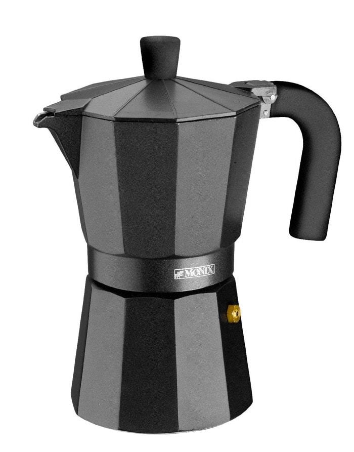 cafetera italiana Monix Vitro Noir