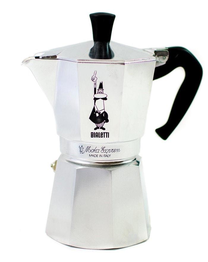 Bialetti Moka Express - Cafetera espresso para 9 tazas