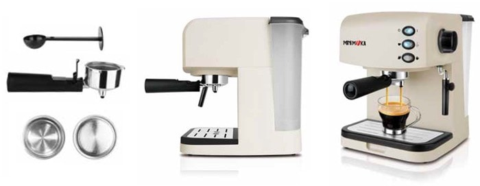 Mini Moka- CM-1695 cafetera espresso manual