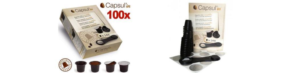 Las mejores capsulas Nespresso rellenables: Capsul'in