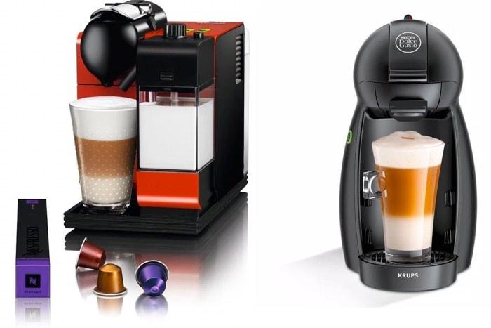 Nespresso vs Dolce Gusto: comparativa de sistemas de cápsulas de café