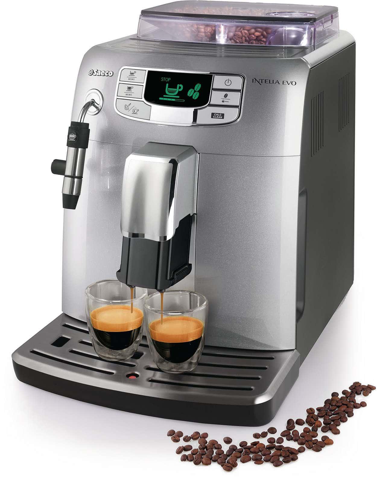 Saeco HD8752/95 Intelia Evo - Cafetera espresso súper automática - Opinión