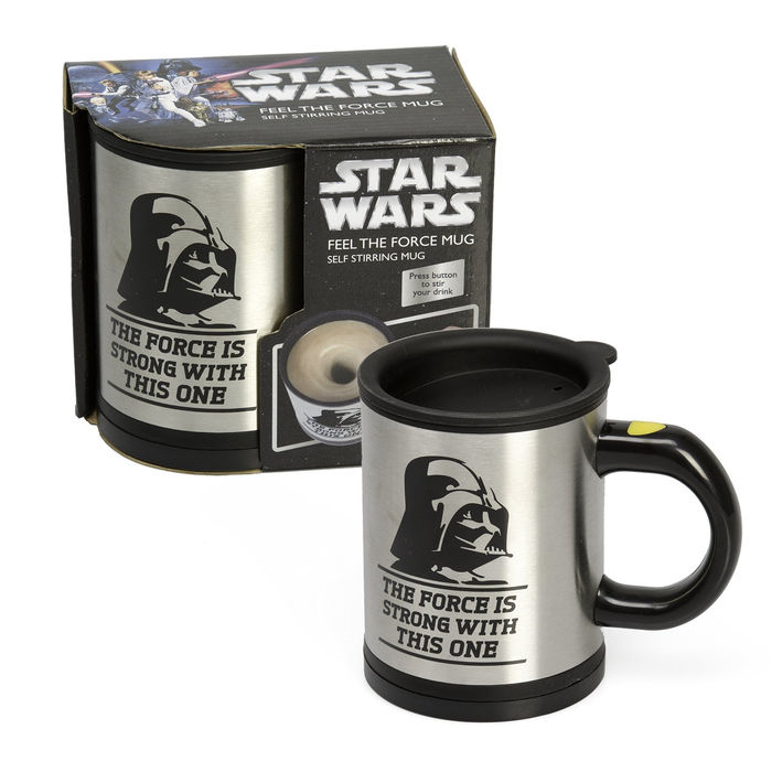 Bluw 13069 - Taza removible, diseño Star Wars Feel The Force