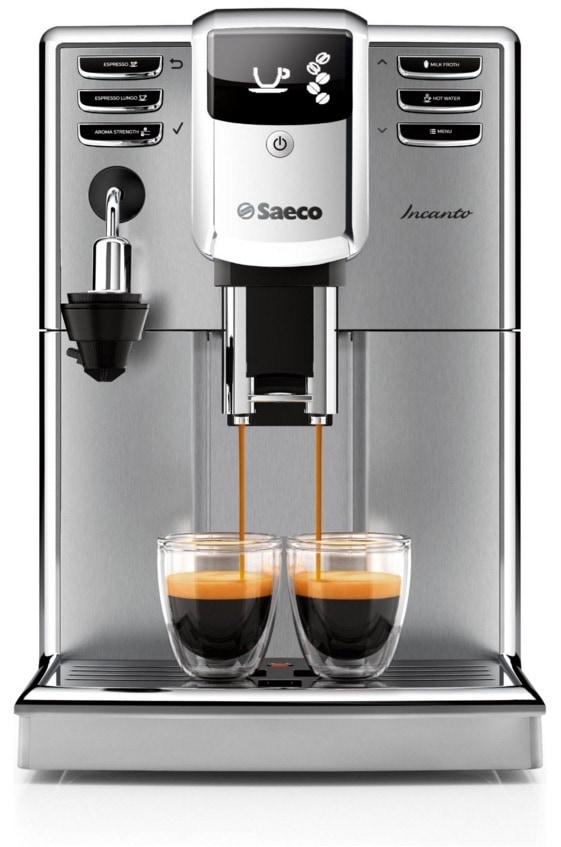 Un año de café Marcilla gratis si compras una cafetera espresso automática Saeco