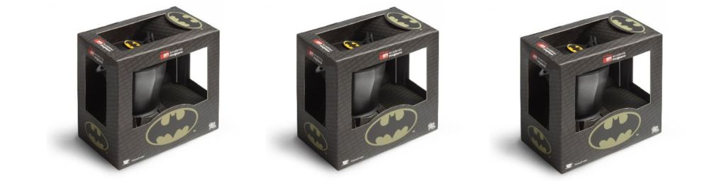 Batman The Dark Knight Italian Espresso Coffee Pot - ¿La cafetera de Batman?