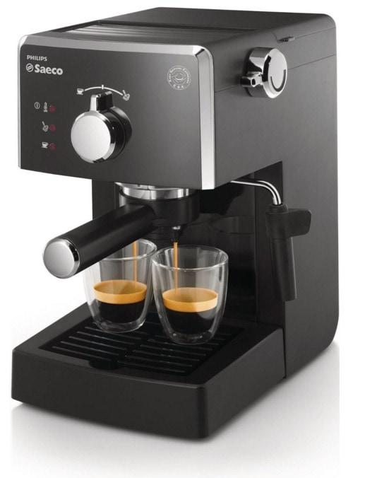 Philips Saeco Poemia: Cafetera espresso manual. Damos nuestras opinión de este modelo.