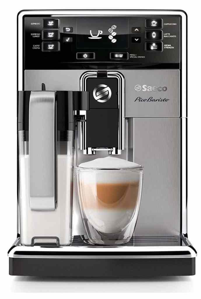 Saeco Pico Baristo HD8927/01 - Máquina de café espresso automática con jarra de leche