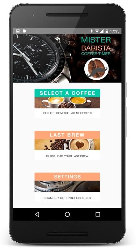 3 aplicaciones para Android imprescindibles si te gusta el café: Mr Barista