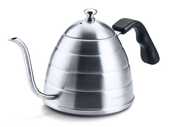 Cafetera de acero inoxidable E-Prance