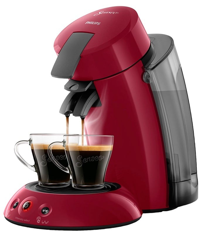 Philips Senseo Original XL HD6555/82 Cafetera Monodosis con Tecnología Coffee Boost