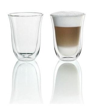 Juego de vasos para café latte Macchiato de Delonghi en oferta por menos de 20 euros