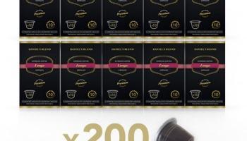 200 Capsulas de Café Compatibles con Nespresso – DANIELS BLEND