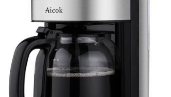 cafetera de goteo programable de Aicok