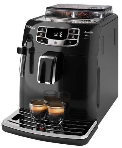 Saeco Intelia Deluxe HD8902/01 - Máquina de café espresso automática con espumador de leche clásico